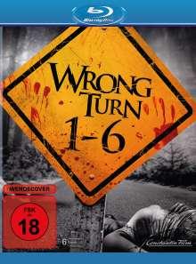 Wrong Turn 1-6 (Blu-ray), 6 Blu-ray Discs