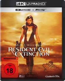 Resident Evil: Extinction (Ultra HD Blu-ray & Blu-ray), 1 Ultra HD Blu-ray und 1 Blu-ray Disc