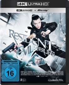 Resident Evil: Afterlife (Ultra HD Blu-ray & Blu-ray), 1 Ultra HD Blu-ray und 1 Blu-ray Disc