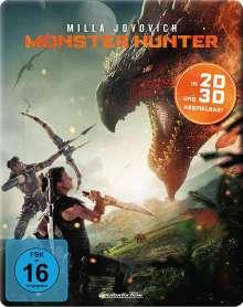 Monster Hunter (3D Blu-ray im Steelbook), Blu-ray Disc