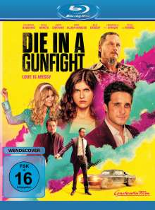 Die in a Gunfight (Blu-ray), Blu-ray Disc