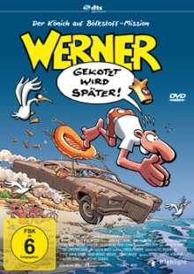 Werner - Gekotzt wird später!, DVD