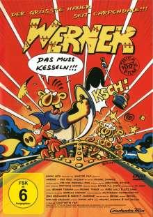 Werner - Das muß kesseln!!!, DVD