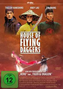 House of Flying Daggers, DVD