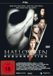 Halloween Resurrection, DVD