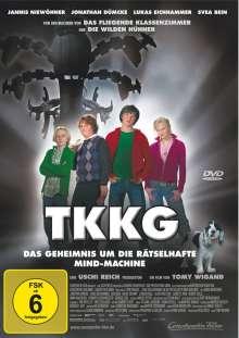 TKKG - Das Geheimnis um die rätselhafte Mind-Machine, DVD