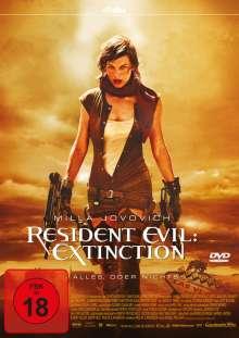 Resident Evil: Extinction, DVD