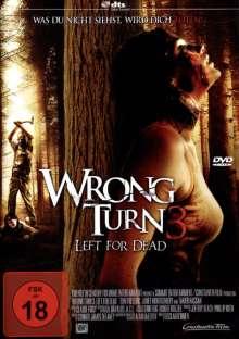 Wrong Turn 3 - Left for Dead, DVD