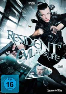 Resident Evil: Afterlife, DVD