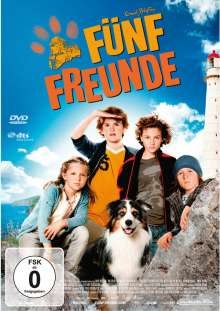 Fünf Freunde (2011), DVD