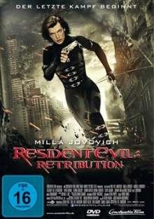 Resident Evil: Retribution, DVD