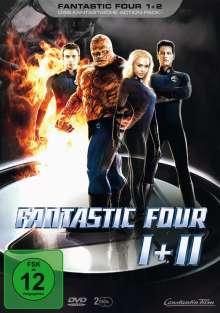 Fantastic Four 1+2, 2 DVDs