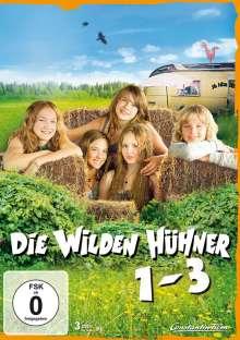 Die wilden Hühner 1-3, 3 DVDs
