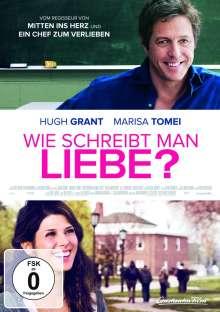 Wie schreibt man Liebe?, DVD