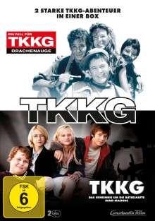 Ein Fall für TKKG: Drachenauge / TKKG: Das Geheimnis um die rätselhafte Mind-Machine, 2 DVDs