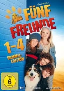 Fünf Freunde 1-4, 4 DVDs