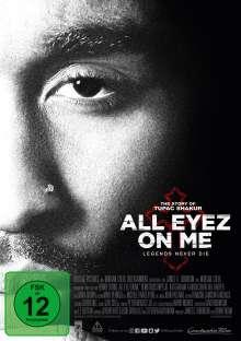 All Eyez on Me, DVD