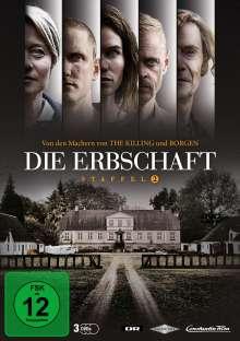 Die Erbschaft Staffel 2, 3 DVDs