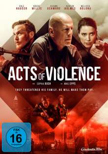 Acts of Violence, DVD