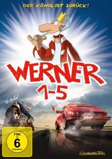 Werner 1-5 Königbox, 5 DVDs