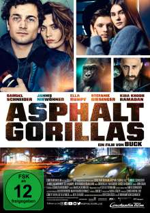 Asphaltgorillas, DVD