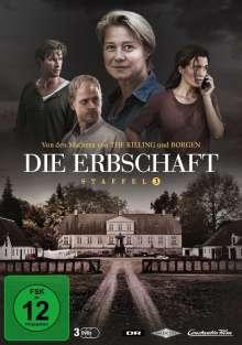 Die Erbschaft Staffel 3 (finale Staffel), 3 DVDs