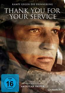 Thank You For Your Service, DVD