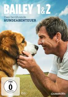 Bailey - Ein Freund fürs Leben / Bailey - Ein Hund kehrt zurück, 2 DVDs