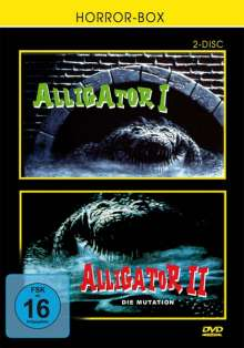 Alligator 1 & 2, DVD