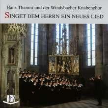 Windsbacher Knabenchor - Singet dem Herrn ein neues Lied, CD