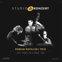 Roman Rofalski Trio: Studio Konzert (180g) (Limited Hand Numbered Edition), LP
