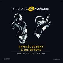 Schwab Soro (Raphael Schwab & Julien Soro): Studio Konzert (180g) (Limited-Numbered-Edition), LP