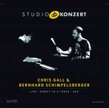 Chris Gall & Bernhard Schimpelsberger: Studio Konzert (180g) (Limited-Numbered-Edition), LP