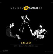 Shalosh: Studio Konzert (180g) (Limited-Numbered-Edition), LP