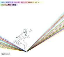 Remi Dumoulin, Bruno Ruder & Arnaud Biscay: Das Rainer Trio, CD