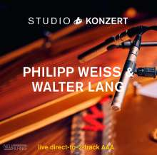 Philipp Weiss & Walter Lang: Studio Konzert (180g) (Limited Numbered Edition), LP