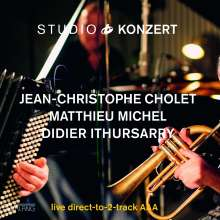 Jean-Christophe Cholet & Matthieu Michel: Studio Konzert (180g) (Limited Edition), LP