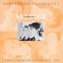 Alliage Quartett - Saxophone Classique I, CD