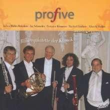 Profive - Bläserquintette der Klassik, CD