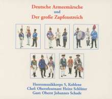 Heeresmusikkorps 5 Koblenz: Deutsche Armeemärsche & Großer Zapfenstreich, 5 CDs