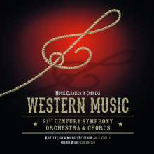 21st Century  Symphony Orchestra: Filmmusik: Western Music - Movie Classics In Concert, CD