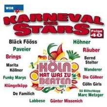 Karneval der Stars 40, CD