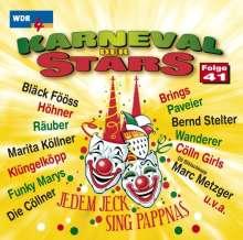 Karneval der Stars Folge 41, CD