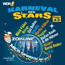 Karneval der Stars 43, CD