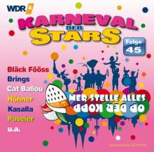 Karneval der Stars Folge 45, CD