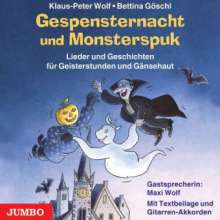 Wolf,Klaus-Peter:Gespensternacht & Monsterspuk, CD