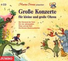 Marko Simsa: Konzerte f.kleine Ohren, 4 CDs