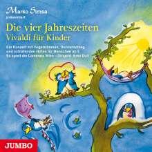 Marko Simsa: Die Vier Jahreszeiten.Vivaldi Für Kinder, CD