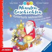 Ahlborn,Jodie/Menrad,Karl: 1-2-3 Minutengeschichten.Kunterbunte Weihnachten, 2 CDs