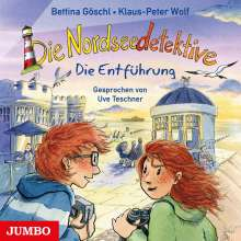 Die Nordseedetektive (7.) Die Entführung, CD